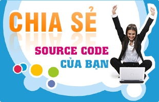 chia se source code, upload code, upload ma nguon, upload do an, thanh vien chia se code