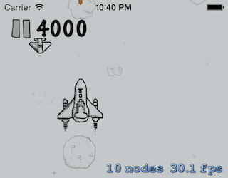 Source code Flight Game by SpriteKit Cocos2D
