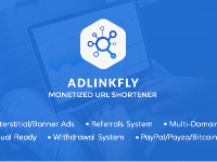 AdLinkFly - Monetized URL Shortener Full code and Key