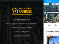 BDS + Căn Hộ ApusHome - Real Estate WordPress Theme