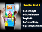 Candy Cute - Fantastic Match-3 Game, Ready to Publish