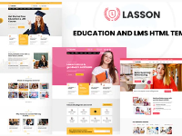 Education and LMS HTML Template | Template Giáo dục