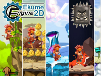 super platformer,Ekume Engine,Platformer 2D,Make amazing 2D games