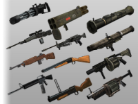 FPS Guns 12 Pack - Using for Unity Games