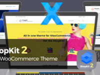 Free ShopKit is the most complete theme for WooCommerce