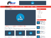 Giao diện website blog về game miễn phí - Template free blog about game