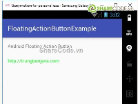Hướng dẫn tạo FloatingActionsButton cho app Android