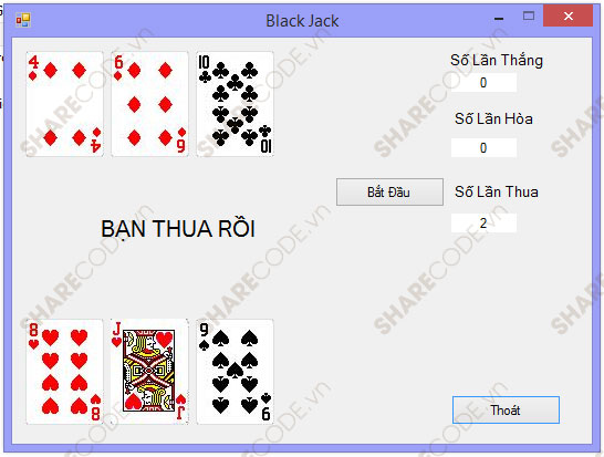 blackjack game java source code
