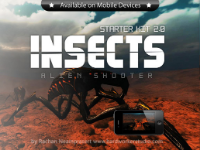 Insects: Alien Shooter Starter Kit For PC And Mobile Devices