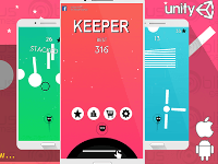 source code game,Keeper - Complete Unity Project,Code game Keeper,game adroid
