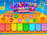 Little Piano Drum And Music Game For Kids + Admob