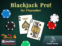 Mã nguồn game Blackjack Pro - Playmaker + Full Source + Audio + Ready For Release