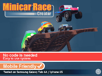 Minicar Race Creator - Complete Toolkit To Creating Racing Game For Mobile