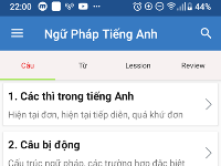 Ngữ pháp tiếng anh Code android