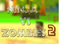Ninja VS Zombie 2 - Complete Project Game For Mobile, Ready To Publish.