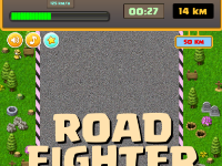 Road Fighter- Game đua xe cổ điển - Source code Unity