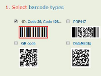 Share code Android Barcode Demo