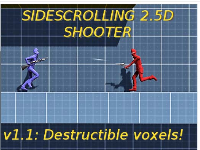 Sidescrolling 2.5D Shooter - Unity Complete Project