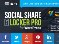 Social Share & Locker Pro Wordpress Plugin- The Best Locker Plugin - Update lifietime