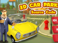 code game,game 3D,Unity 3D,source code game unity parking,code game lái xe 3,lái xe 3D Unity