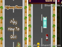 Source code game Top Down Racing