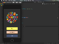 Source Code Math Game React Native React Hook + React Navigation v5 + ES2020