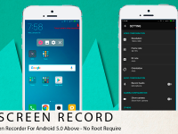 Source code Screen Recorder above no root require Android 5.0 | Sharecode.vn