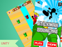 Stickman Bouncing Unity Complete Project