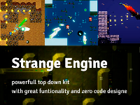 Strange Engine - 2D Top Down Engine