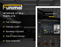 Template website nội thất Funimal - Premium Furniture 21$ Themeforest