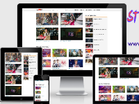 YouTube API Video Blogger Template Version 3.0