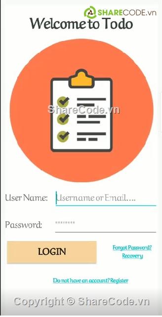 App Android,Android Firebase,Todo App,Firebase by Android Studio,Code Android Studio