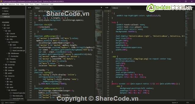 App Chat Bot Auto HTML CSS JS