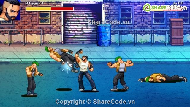 Beat Em Up - Đánh nhau 2D Game Template Osarion
