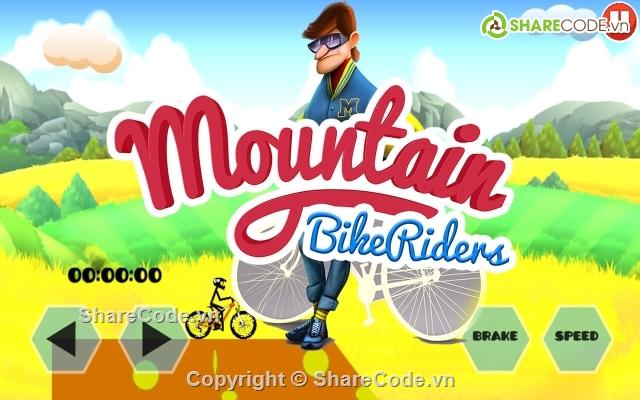 Mountain Bike Rider Unity template