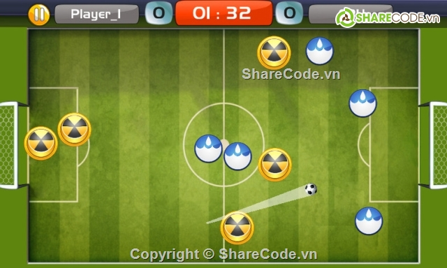 Finger Soccer Game Kit - Simple Mobile Game Kit, Ready To Publish