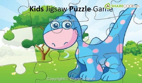 Source code game ghép tranh Kids Jigsaw Puzzle