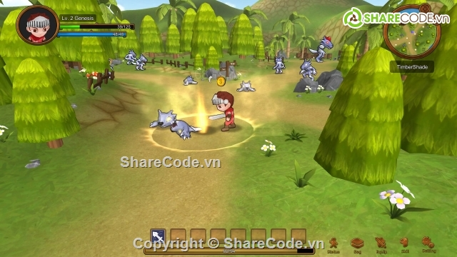 Source Code Game RPG Oath of Genesis Unity3D