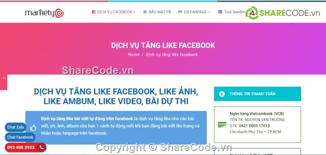 auto hack like fanpage facebook