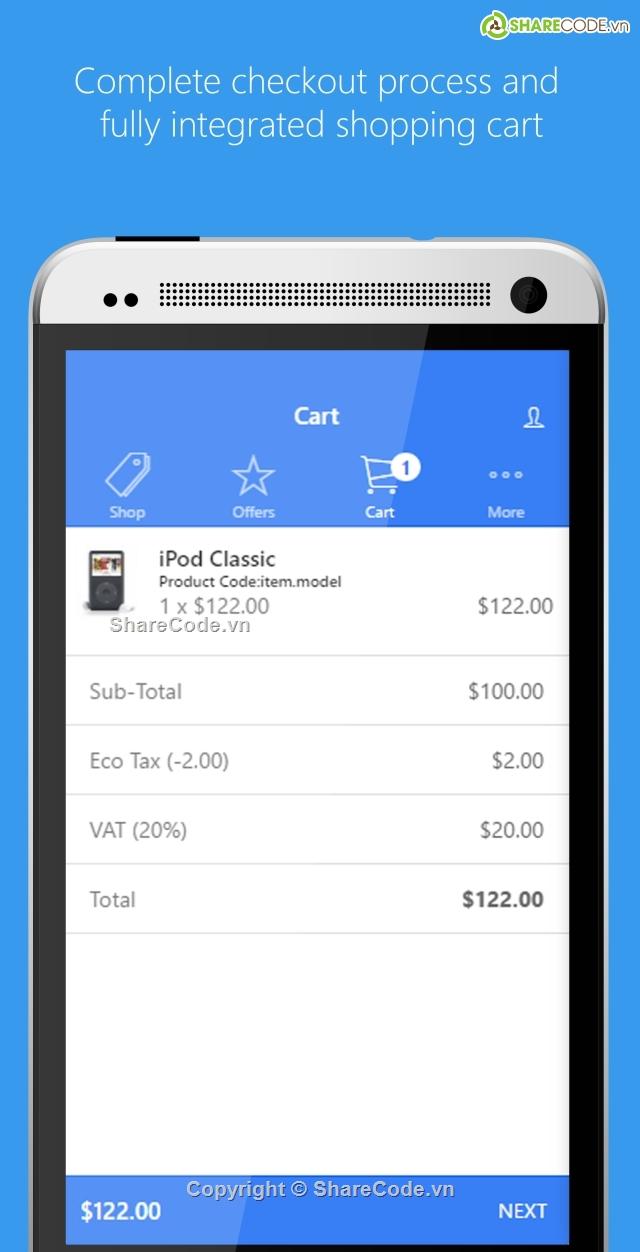 Ứng dụng bán máy tính - Tích hợp Opencart BackEnd - Hybrid - IOS - AnDROID