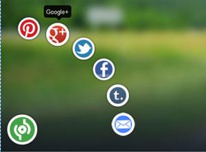 Tạo nút chia sẻ mạng xã hội cho blogspot với phong cách 3D đẳng cấp